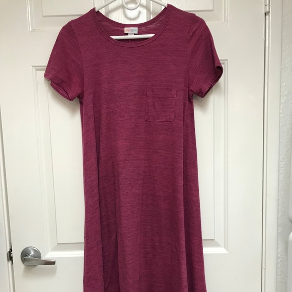 LuLaRoe Dresses & Skirts - Lularoe Carley Dress (T-shirt Dress)